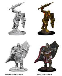 Dungeons & Dragons Nolzur's Marvelous Unpainted Miniatures: Death Knight & Helmed Horror