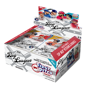 2018 MLB Big League Baseball Hobby Box