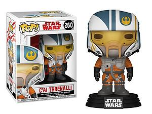 Pop! Star Wars The Last Jedi Vinyl Bobble-Head C'ai Threnalli