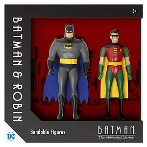 Bendable Batman The Animated Series 2-Pack Bendable Figures Batman & Robin