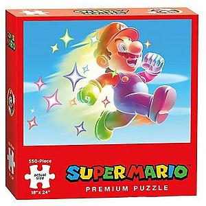 Puzzle: Super Mario Rainbow Runner