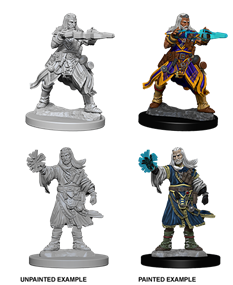 Pathfinder Deep Cuts Unpainted Miniatures: Human Male Wizard