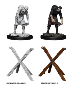 Deep Cuts Unpainted Miniatures: Assistant & Torture Cross