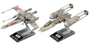 Star Wars 1/144 Scale Model Kit: X-Wing Starfighter & Y-Wing Starfighter