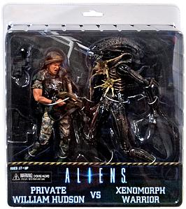 "Aliens 7"" 2-Pack Set: Hudson vs. Brown Alien Warrior"