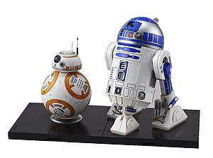 Star Wars 1/12 Scale Model Kit: BB-8 & R2-D2