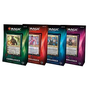 Magic the Gathering: Commander 2018 (Set of 4 Decks)