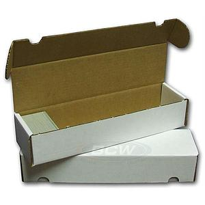 800 Count Card Storage Box