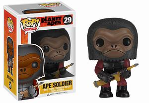 Pop! Movies Planet of the Apes Vinyl Figure Ape Soldier #29 (Vaulted)