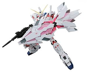 Gundam Real Grade Excitement Embodied 1/144 Scale Model Kit: Unicorn Gundam (Bande Dessinee Ver.)