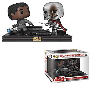 Pop! Movie Moments Star Wars The Last Jedi Vinyl Bobble-Head Finn & Captain Phasma