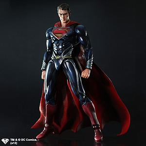 "Play Arts KAI Man of Steel 8"": Superman"
