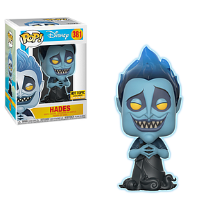 Pop! Disney Hercules Vinyl Figure Hades (Glows in the Dark) #381 Hot Topic Exclusive