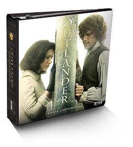 Outlander Trading Cards Season 3 Limited Edition Collector Binder
