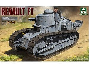 French Light Tank Renault FT-17 (3 in 1)