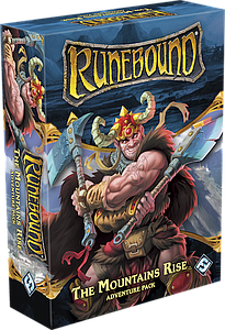 Runebound (Third Edition): The Mountains Rise (Adventure Pack)