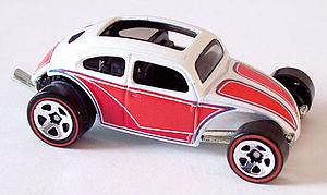 Hot Wheels Since '68 Hot Rods Die-Cast: Custom Volkswagen Beetle