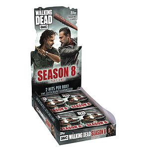 The Walking Dead Trading Cards: Season 8 Booster Box