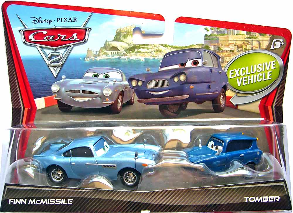 Mattel Disney Cars Die Cast 1 55 Scale 2 Pack Toys Finn Mcmissile Tomber Www Toysonfire Ca