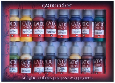 16 Game Color Set - Advanced (72298)