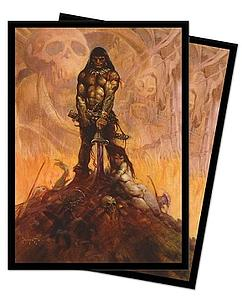 Deck Protector 100-pack Sleeves: Frank Frazetta Barbarian