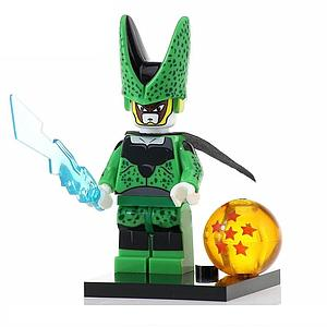 Anime Dragon Ball Z Minifigure: Perfect Cell