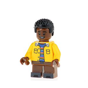 Television Netflix Stranger Things Minifigure: Lucas (TV-31)