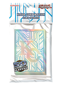 YuGiOh Card Sleeves 50 Pack Small Size: Kaiba Corporation