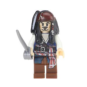 Movies Disney Pirates of the Caribbean Minifigure: Jack Sparrow