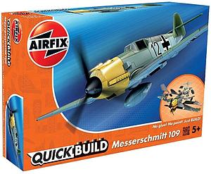 AIRFIX Plastic Model Kit Quick Build Messerschmitt 109 (J6001)