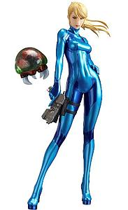 "Max Factory Metroid Other M 8"" PVC Statue: Samus Aran Zero Suit Version"