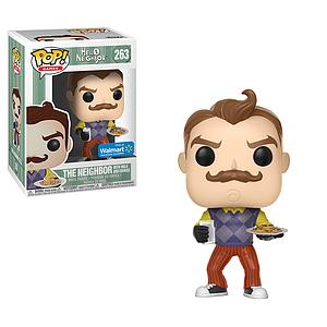 Pop! Games Hello Neighbor Vinyl Figure The Neighbor with Milk and Cookies #263 Walmart Exclusive