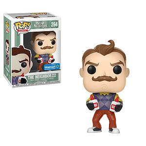 Pop! Games Hello Neighbor Vinyl Figure The Neighbor with Glue #264 Walmart Exclusive
