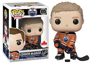Pop! Hockey NHL Vinyl Figure Connor McDavid #05 (Edmonton Oilers) Exclusive
