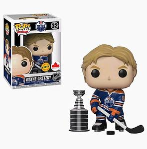 Pop! Hockey NHL Vinyl Figure Wayne Gretzky with Stanley Cup #32 (Edmonton Oilers) Exclusive Chase