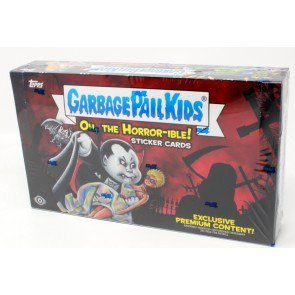 Garbage Pail Kids 2018 Series 2 Trading Sticker Cards: Oh, The Horror-ible! Collector's Edition Hobby Box (24 Packs)