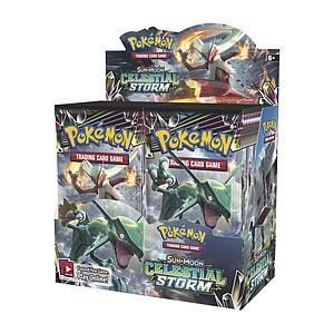 Pokemon Trading Card Game: Sun & Moon (SM7) Celestial Storm Booster Box