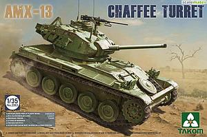 French AMX-13 Light Tank Chaffee Turret