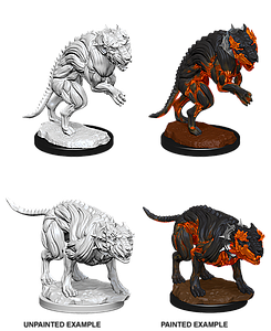 Dungeons & Dragons Nolzur's Marvelous Miniatures: Hell Hounds