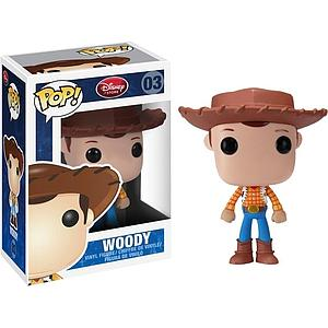 Pop! Disney Toy Story Vinyl Bobble-Head Woody #03 (Retired)
