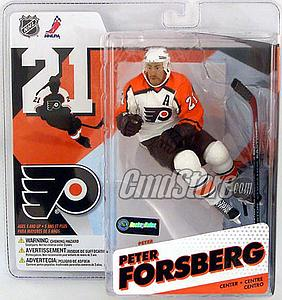 NHL Sportspicks Series 12 Peter Forsberg (Philadelphia Flyers) White Jersey Variant