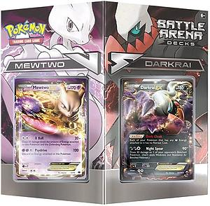 Pokemon Trading Card Game Battle Arena Decks: Mewtwo vs Darkrai