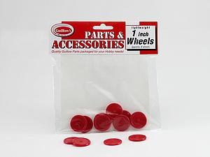 "1"" Plastic Wheels (112)"