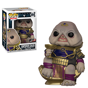 Pop! Games Destiny Vinyl Figure Emperor Calus #344 GameStop Exclusive