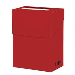 Standard Deck Box - Solid Red