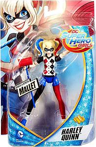 DC Super Hero Girls 6 Inch Action Figure Harley Quinn with Mallet