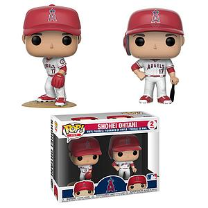 Pop! Baseball MLB Vinyl Figure 2-Pack Shohei Ohtani