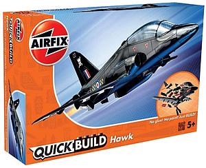 AIRFIX Plastic Model Kit Quick Build Hawk (J6003)