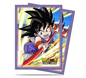 Dragon Ball Deck Protector Sleeves - Explosive Spirit (66mm x 91mm)