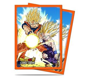 Dragon Ball Deck Protector Sleeves - Kamehameha (66mm x 91mm)